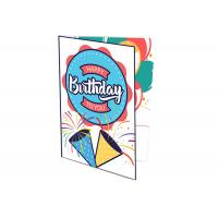 Quality CMYK Special Printing Custom Music Greeting Card Recoding Voice Booklet AG10 Battery for sale