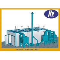 Quality environmental Sandblasting Room for Shipyard to Clean Structural Steel for sale