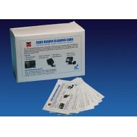 Quality ATM CR80 Flat Cleaning Card , Pre Saturated Atm Cleaning Cards With IPA Solution for sale