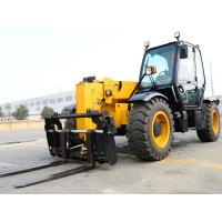 Buy cheap XC6-3507 Mini 3.5 Ton Telescopic Telehandler Forklift Earthmoving Machinery  Used to Handle Loose Materials from wholesalers