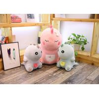 Quality Cute Pink Dinosaur Soft Toy Doll Handcuffs Two In One Plush Toy CE Approved for sale
