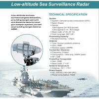 Quality CPC Low Airspace Target Detection And Surveillance Radar System For Fire Control System for sale