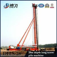 China High Quality 28m Depth DFLS-28 Hydraulic Rotary Piling Rigs for Sale on sale