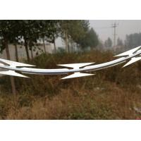Quality Organization Units Razor Wire Fence 350 - 550 Mpa Tensile Strength Easy Installation for sale