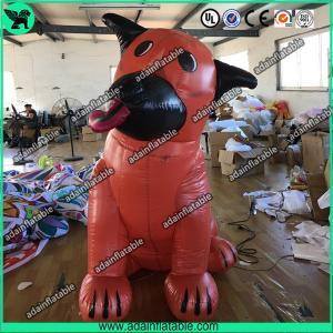 Quality Orange Ugly Inflatable Dog,Inflatable Dog Mascot,Inflatable Dog Cartoon,Giant Dog for sale