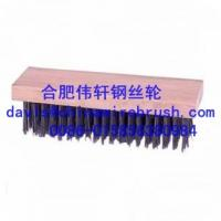 Block Type Wooden Handle Brush