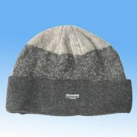 Quality Shetland Wool Knitted Cap with Thinsulate Lining for sale