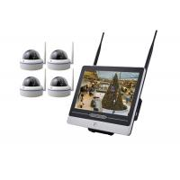 China Metal Dome 4 Camera Security System With Dvr 12.5 Inch LCD Remote Viewing Real Time on sale
