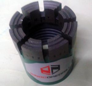 Quality Impregnated Diamond Core Drill Bits NQ Core Drill Bits , Fast Cutting for sale