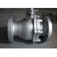 Quality ANSI B16.34 Petroleum Valves Flanged Stainless Steel Ball Valve for sale