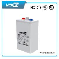 Quality White Color OPzV Battery 2V 3000Ah more than 1500 Cycles at DOD 80% for sale