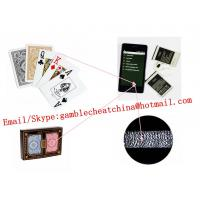 China KEM plastic edge marked playing cards for poker analyzer/gamble cheating device/side marked cards/poker scanner on sale