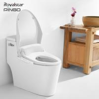 China ABS Resin Bathroom Smart Bidet Toilet Seat Soft Close Automatic Heating on sale