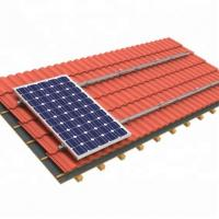 China 0-60 Degree Solar Panel Roof Mounting Systems 275w 285w Portrait Landscape Aluminum Alloy on sale