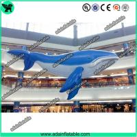 Quality Inflatable Whale,Blue Inflatable Whale, Event Hanging Inflatable Animal for sale