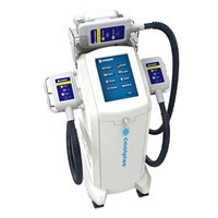 China Coolplas Fat frozen Device  skin cooling and heating system on sale