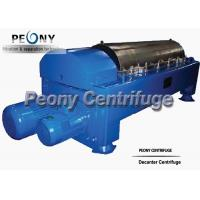 Water Sludge Decanter Centrifuge Decanter Type With PLC Control for sale