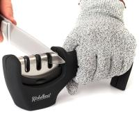 Buy cheap ABS Diamond Kitchen Knife Sharpener 3 Stage Knife Sharpening Tool from wholesalers