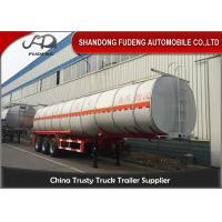 4 compartments fuel tanker semi truck trailer can be customized