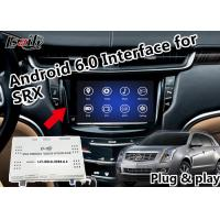 Quality Plug&Play Android 6.0 GPS Navigation Interface for Cadillac SRX XTS ATS EXCALADE with Waze Yandex Online Map for sale