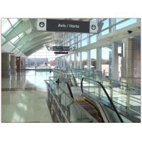 Quality Airport Tempered Laminated Glass Walls And Stairs , Toughened Glass 10 mm for sale