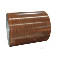 Quality 2000mm Ss316 Wood Grain Prepainted Steel Coil For Wooden Wall for sale