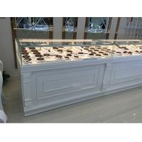 Quality White Color Jewelry Store Showcases Jewellery Display Cabinets OEM / ODM Available for sale