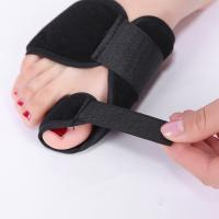 Buy Bunion Aid Bunion Treatment Splint Black Adjustable Hallux Valgus Support at wholesale prices