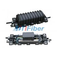 Buy cheap 2 Input And 2 Output , In Line Outdoor Fiber Splice Enclosure With 12 Fiber Splice Tray product