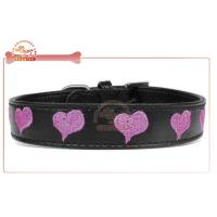China Custom Embroidered Leather DIY Dog Collar on sale