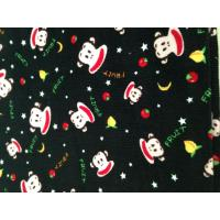 Quality Cotton 16*21 44*134 16wale printed corduroy fabric for sale