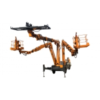 Quality Self Propelled 3 Boom Robotic Arch Install Machine for sale