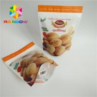 Buy cheap Foil Laminated Snack Food Packaging Bags Matte Surface Finish For Biscuit from wholesalers