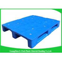 Buy cheap Heavy Duty Blue Plastic Pallets Storage Equipment Racking System Customized from wholesalers