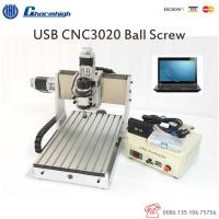 China 3 Axis Laptop USB CNC3020 Router Ball screw For Engraving Drilling Milling Machine on sale