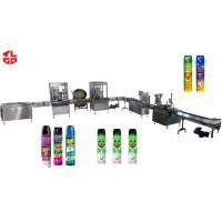 Buy cheap Pneumatic Automatic Aerosol Filling Machine for Pesticide Insecticide Insect Killer product