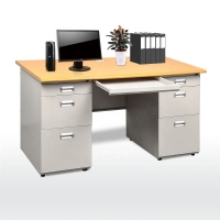 Quality Knock Down L1600mm H750mm Office Table Desk for sale