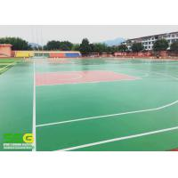 Quality Flooring paint - water based anti skid basketball / tennis sport court floor for sale