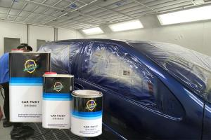 Quality Epoxy Anti Scratch Coating 1K Car Paint Metallic Color For Automotive Frame for sale