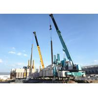 Quality Diversity Side Pile Driver Machine For Pile Foundation Customized Service for sale