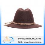 Quality Hot selling woolen beer festival alpine hats for men for sale