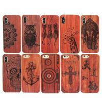 China High - End Wood iPhone X Case Comprehensive Protection Personalized Service Available on sale