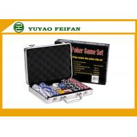 Buy cheap Travelling Promotional Free Gifts  200 pcs 11 G Poker Chips Sets For Family product