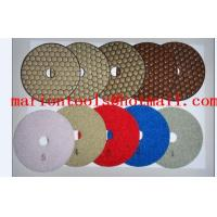 Quality diamond dry polishing pads for stone for sale