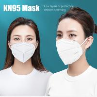 Quality KN95 Dustproof Anti-fog And Breathable Face Masks 95% Filtration Mouth Masks FFP2  Mouth Muffle Cover for sale
