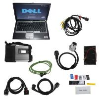 Quality WIFI V2017.07 MB Star C5 SD Connect Compact C5 with Dell D630 Laptop for Cars and Trucks for sale