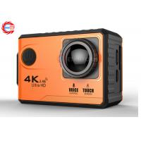Quality Voice Control EF100P Wifi 4K Action Camera 2.0 Touch Screen with Gyro and Remote, GPS Extension as option for sale