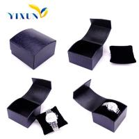 Buy cheap glass top black 20 Watch PU Leather case from wholesalers