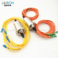 Buy cheap Double Channel Fiber Optic Rotary Joint / Fiber Optic Cable Joint With Stainless from wholesalers