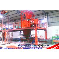 Quality Concrete Panel / Eps Sandwich Mgo Wall Sheet Making Machine With High Speed for sale